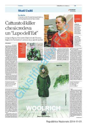 Woolrich – La Repubblica