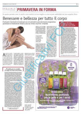 Weleda – Corriere della Sera