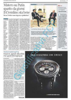 Breitling – Corriere della Sera