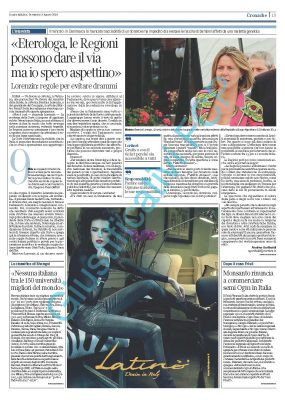 Latino' – Corriere della Sera