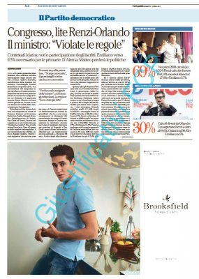 Brooksfield – La Repubblica