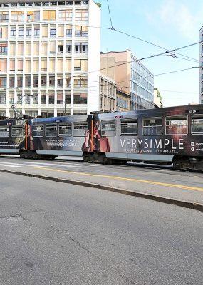 Very Simple jumbo Tram