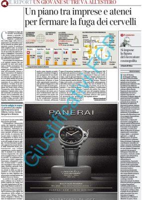 Panerai – Corriere della Sera