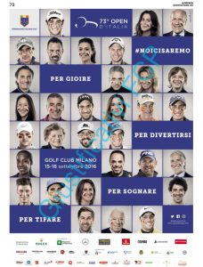 73 Open d'Italia – La provincia di Como