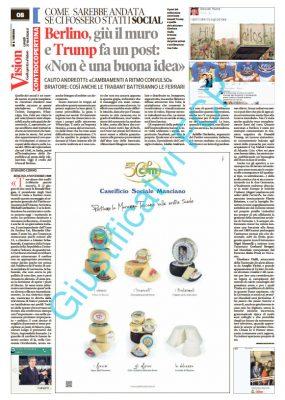 Caseificio Sociale Manciano – Il Tirreno